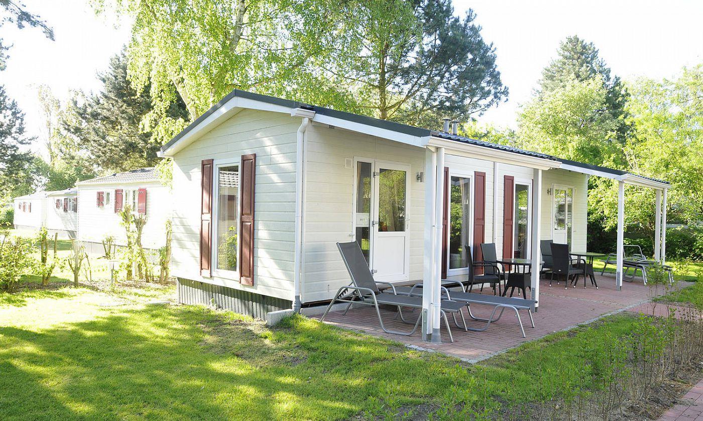 Location - Mobilhome Chatel Maison Mobile Pour Deux Personnes - Camping- und Ferienpark Wulfener Hals-Fehmarn