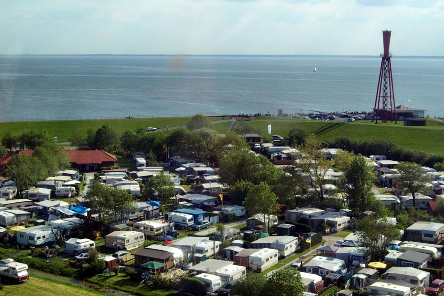 Emplacement - Komfortstellplatz - KNAUS Campingpark Eckwarderhörne