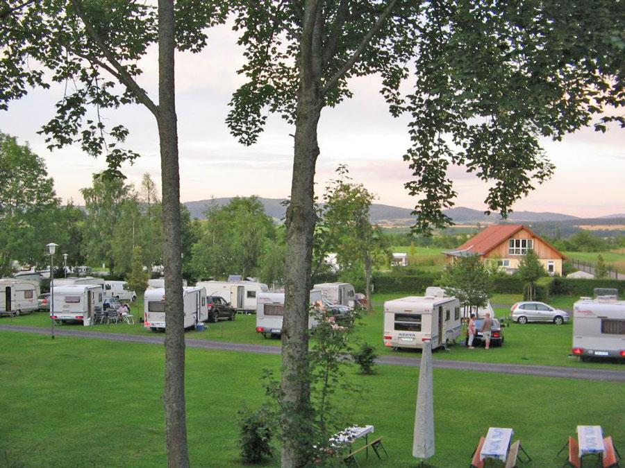Emplacement - Emplacement - KNAUS Campingpark Hünfeld-Praforst