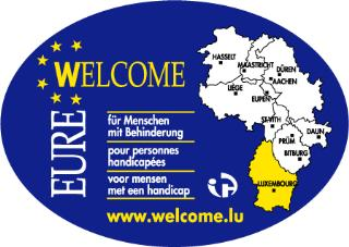 Wheelchair friendly Camping Auf Kengert - Larochette-Medernach