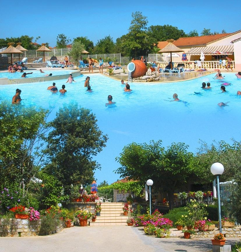 Zwemplezier Camping Les Cigales - Berrias