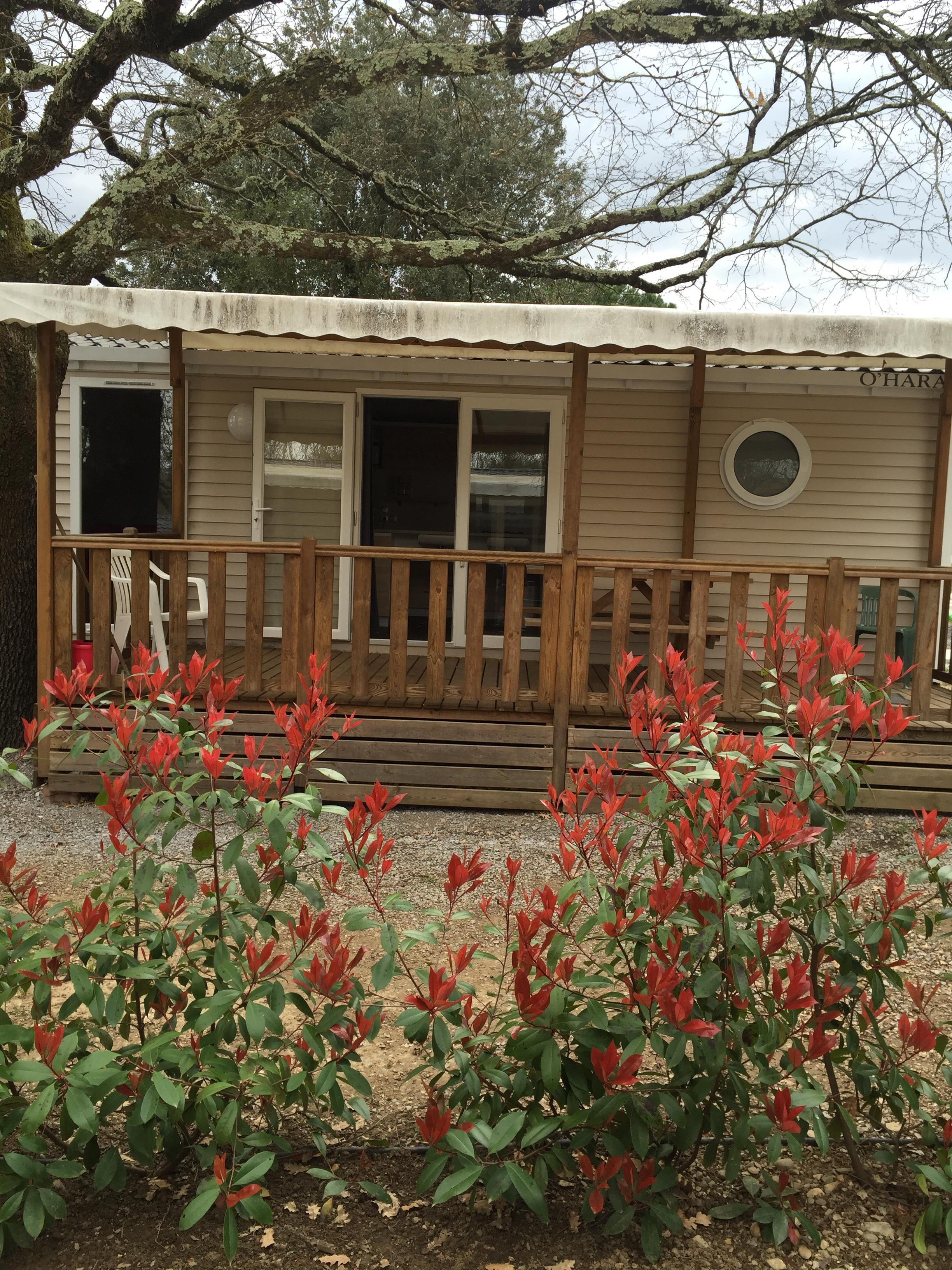 Huuraccommodatie - Groot Mobil Home - Camping Les Cigales