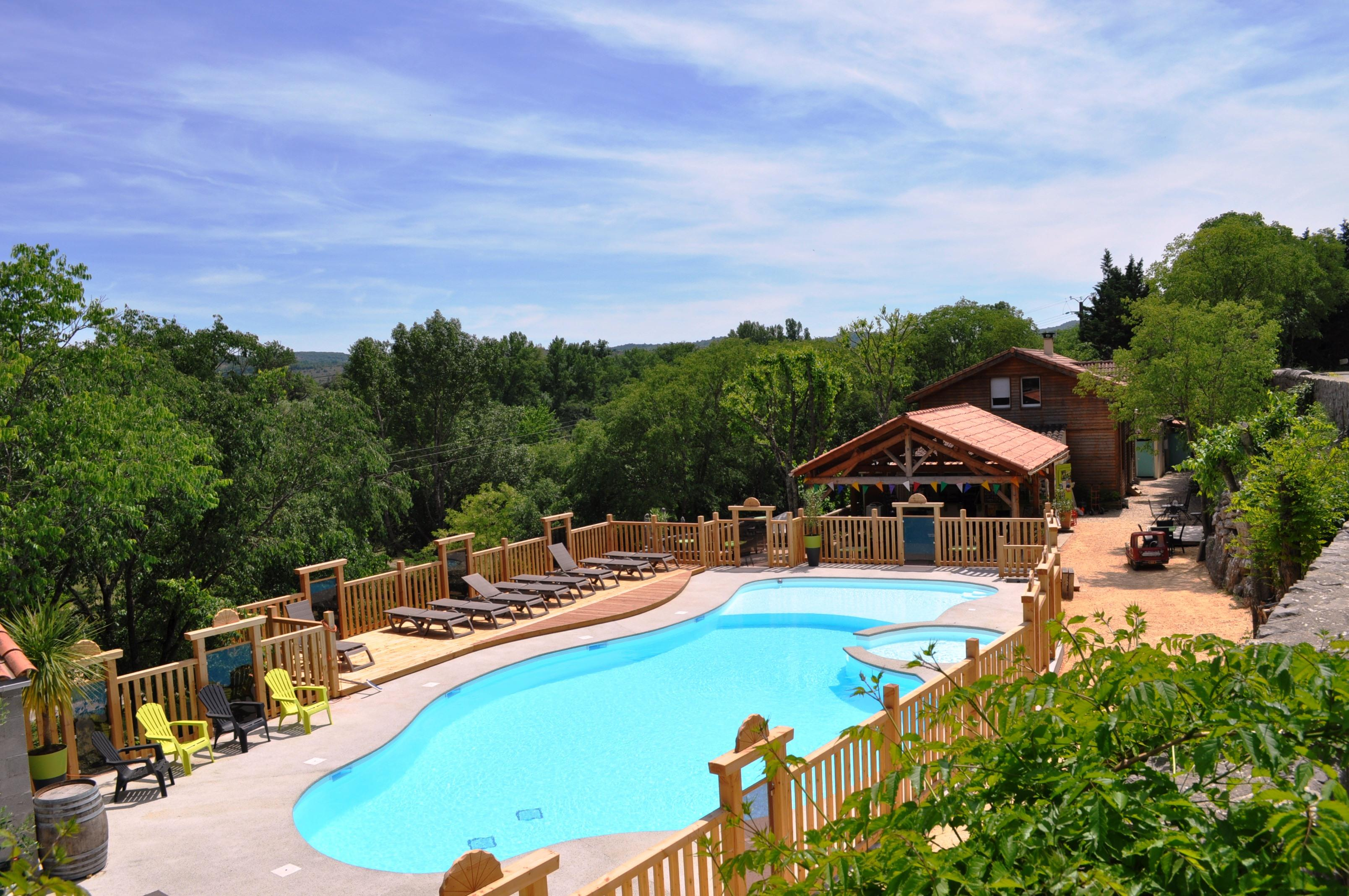 Establishment Camping De L'arche - Lanas