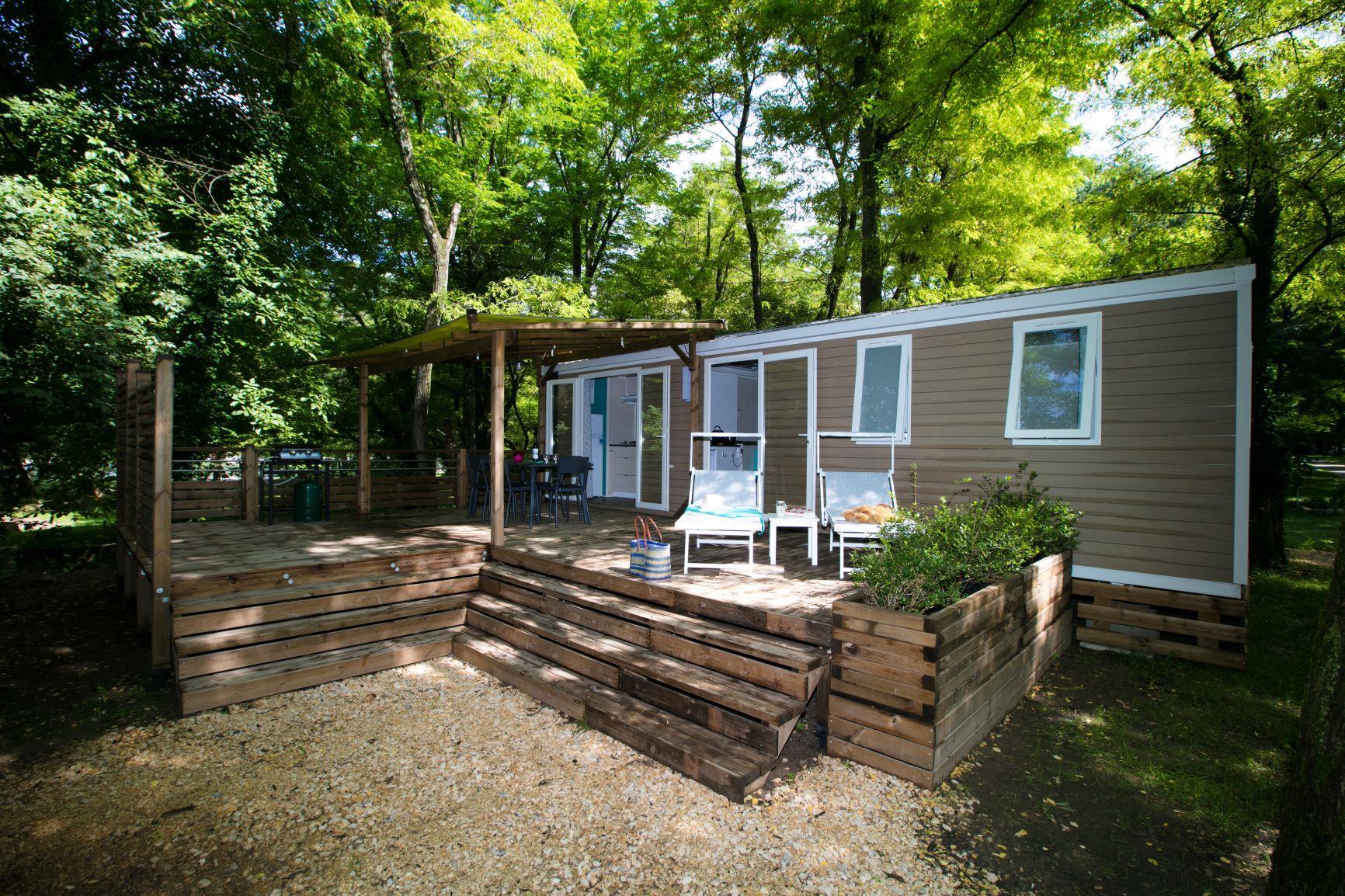 Location - Premium Super Cordelia Rivièra  - 3 Chambres (1) - Camping Laborie