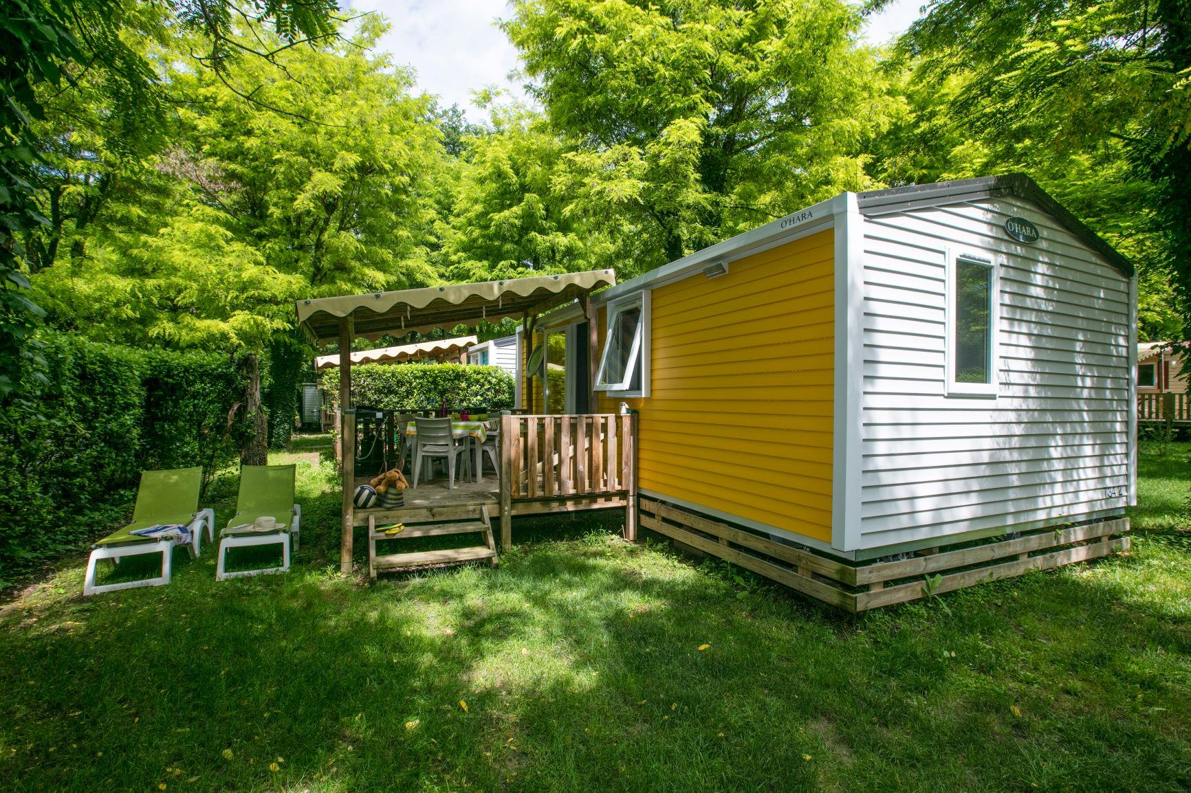 Location - Confort Mobil-Home Ohara  - 2 Chambres  (1) - Camping Laborie