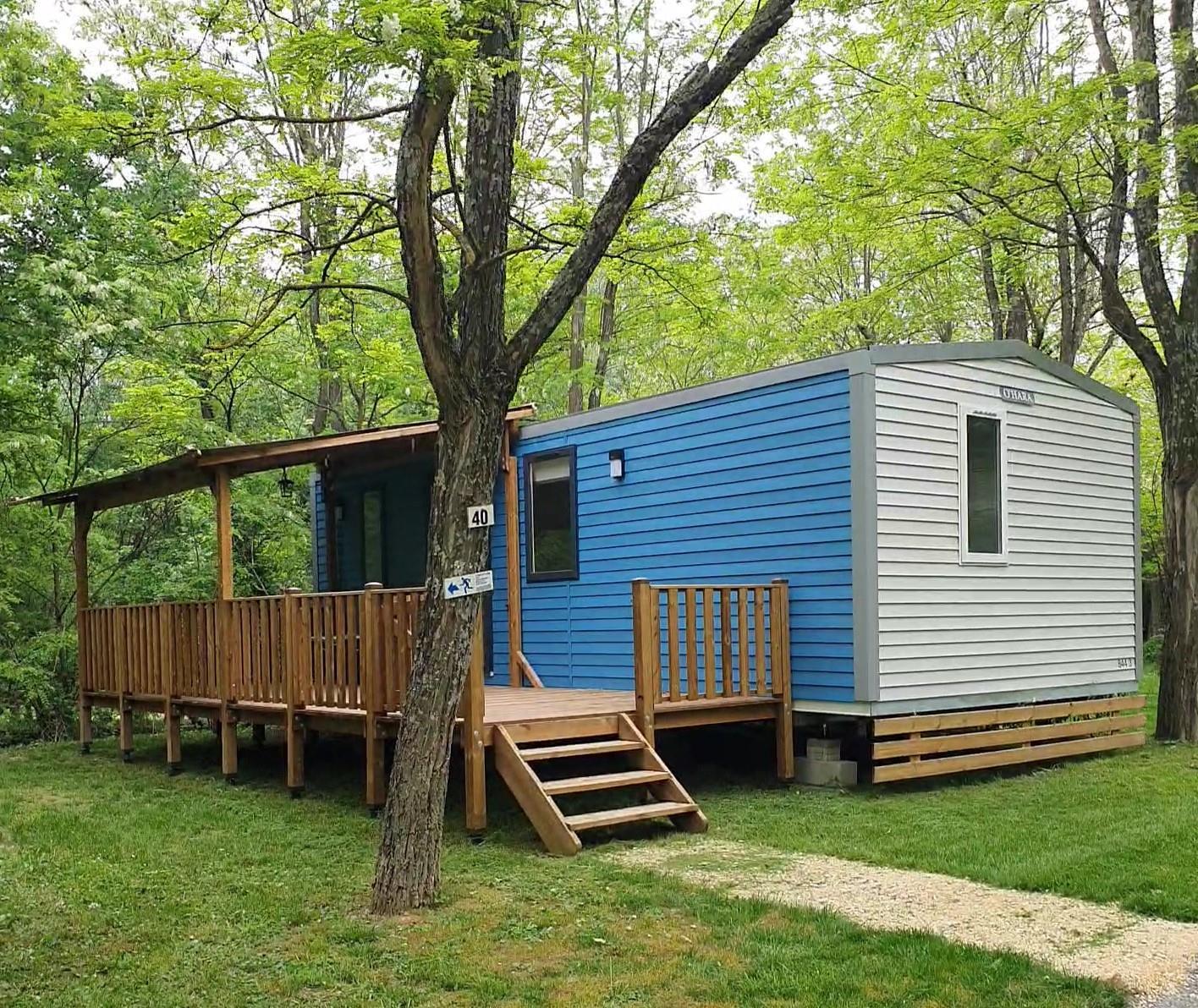 Location - Grand Confort Ohara 844 3 Chambres - Camping Laborie
