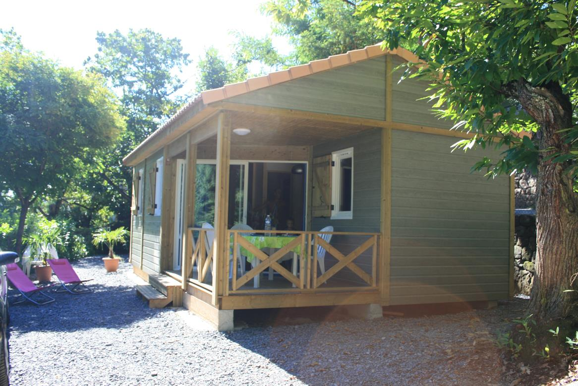 Huuraccommodatie - Chalet  Fabre Gamme Confort - CAMPING LES CHATAIGNIERS