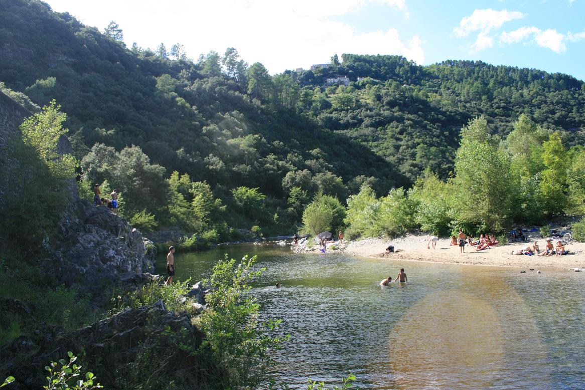 Stranden Camping Les Chataigniers - Ribes