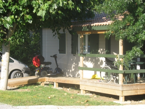Mietunterkunft - Chalet Edelweiss - Camping Les Arches