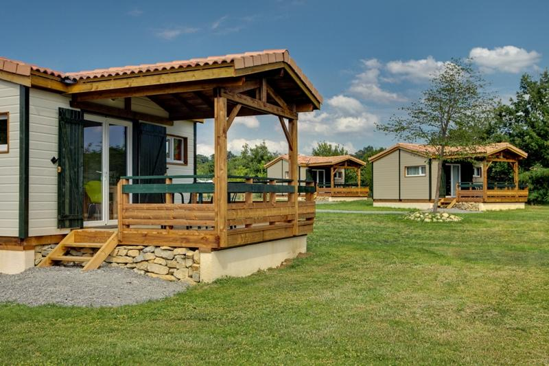 Mietunterkunft - Chalet Mistral - Camping Les Arches