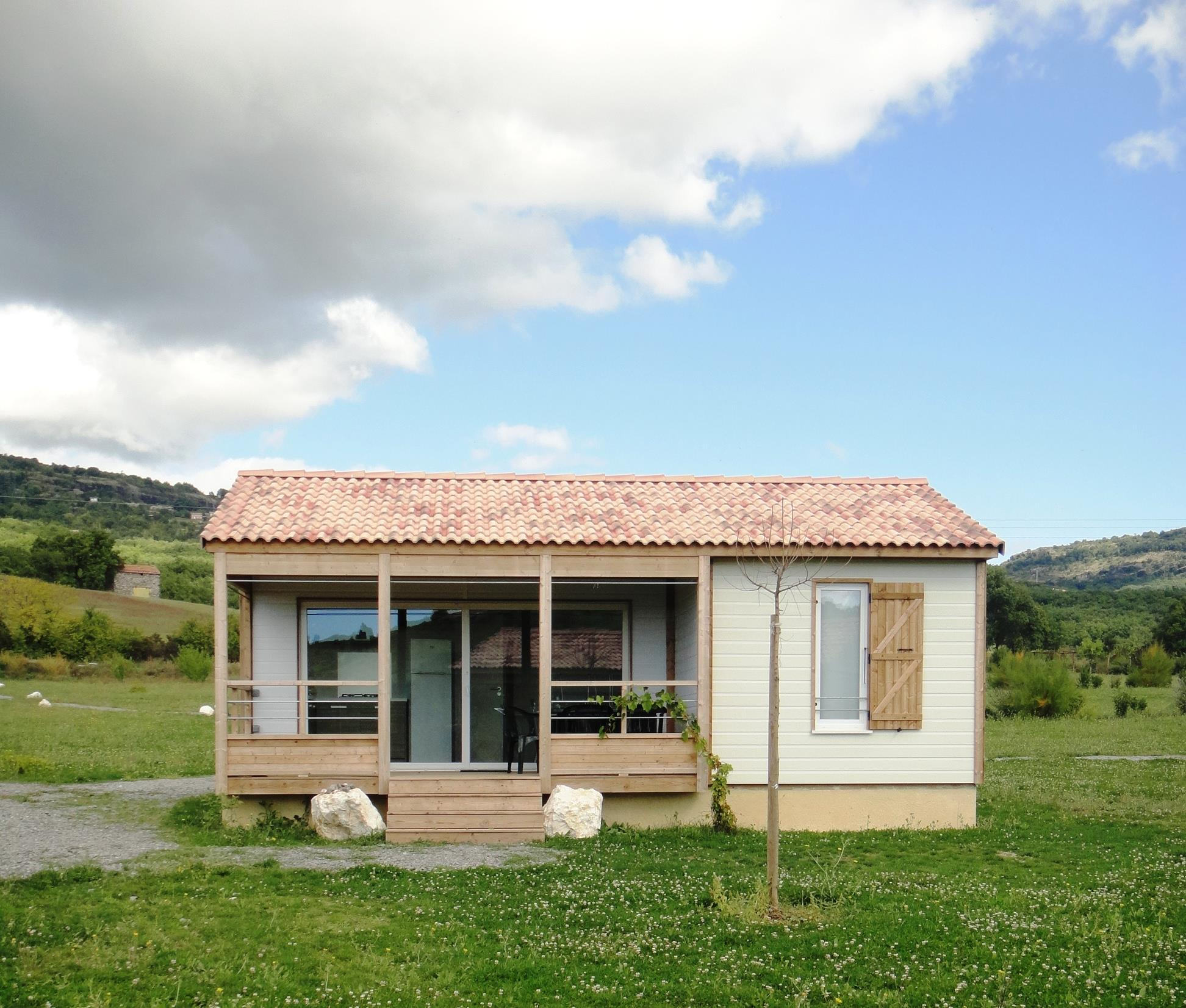 Accommodation - Chalet Confort 32 M² - Camping Les Arches