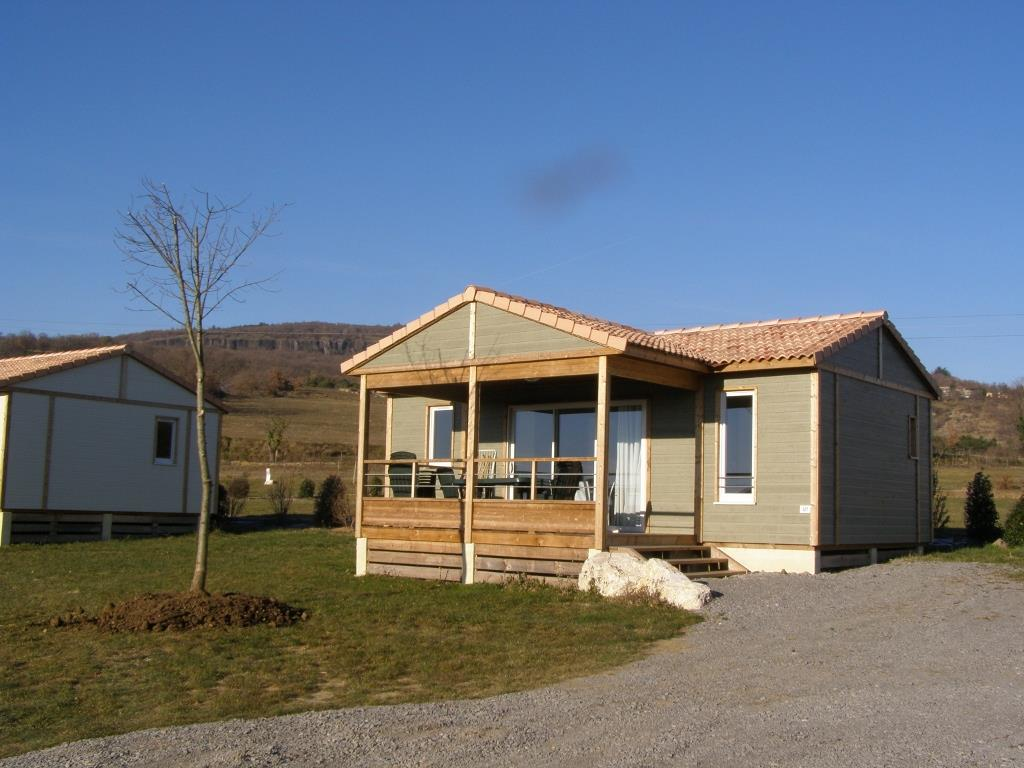Accommodation - Chalet Confort 35 M² - Camping Les Arches