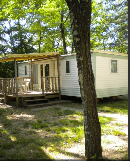 Accommodation - Mobile Home Essentiel 2 Bedrooms - Camping les Peupliers
