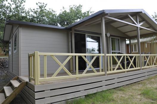 Location - Chalet Grand Confort Eden 54M² - 3 Chambres. - Camping Les Chênes Verts