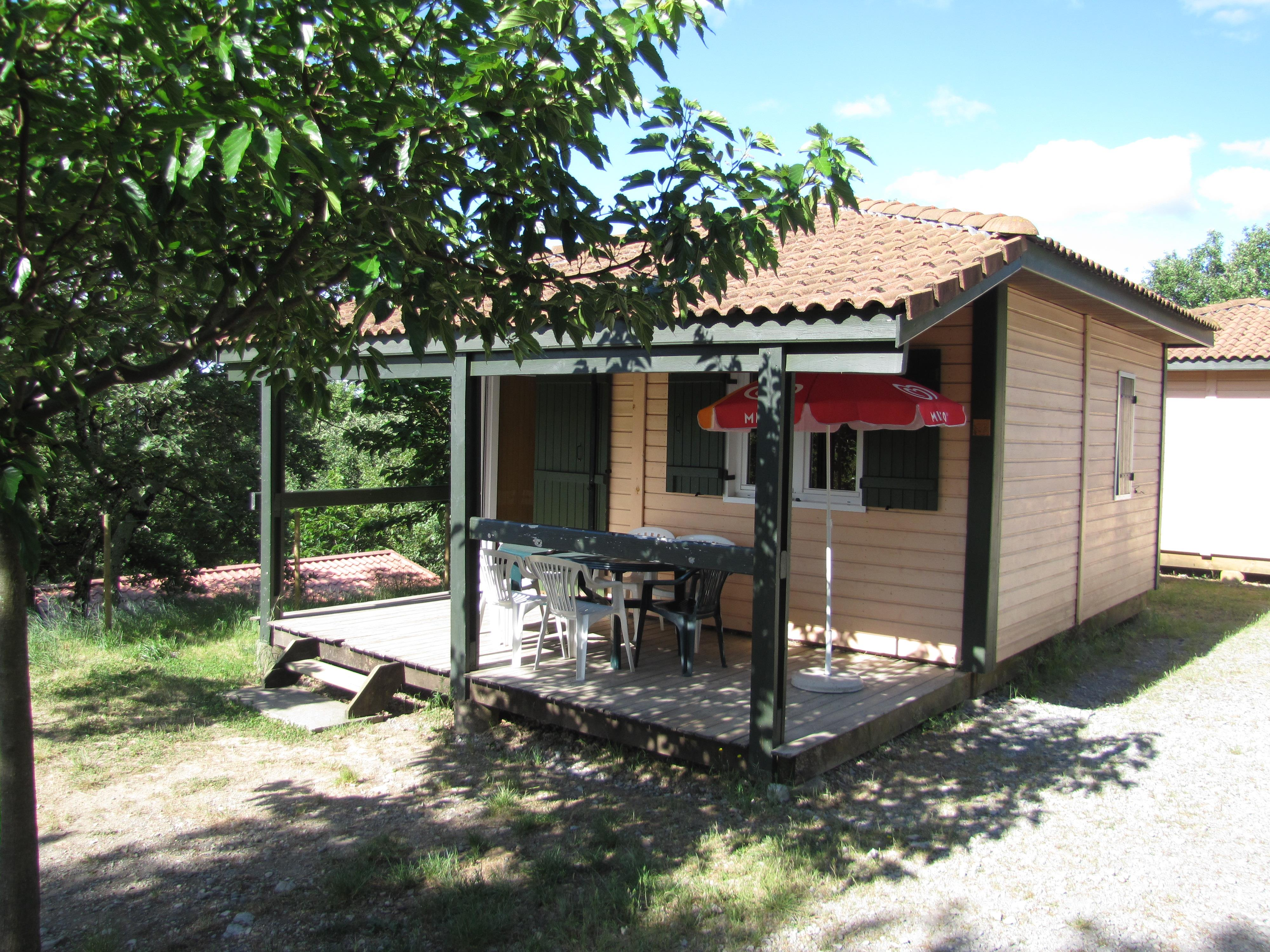 Location - Chalet Eden 35M², 2 Chambres. - Camping Les Chênes Verts