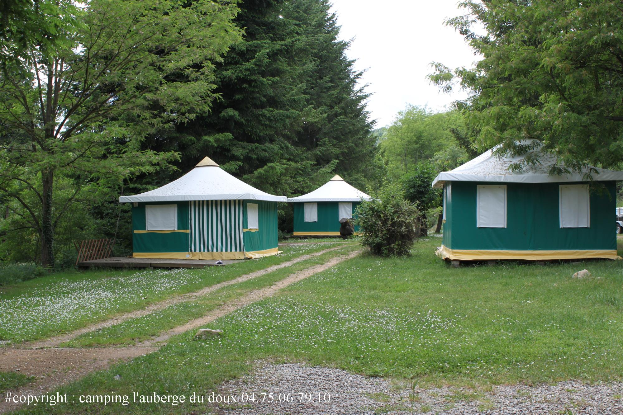 Accommodation - Canvas Bungalow - Camping Les Berges Du Doux