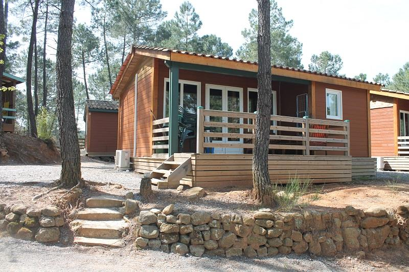 Huuraccommodatie - Chalet Sequoia - 2 Kamers - Camping Bois Simonet