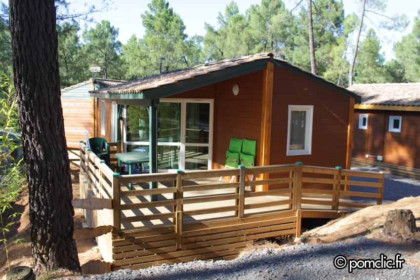 Huuraccommodatie - Chalet Fougere - 2 Kamers - Camping Bois Simonet