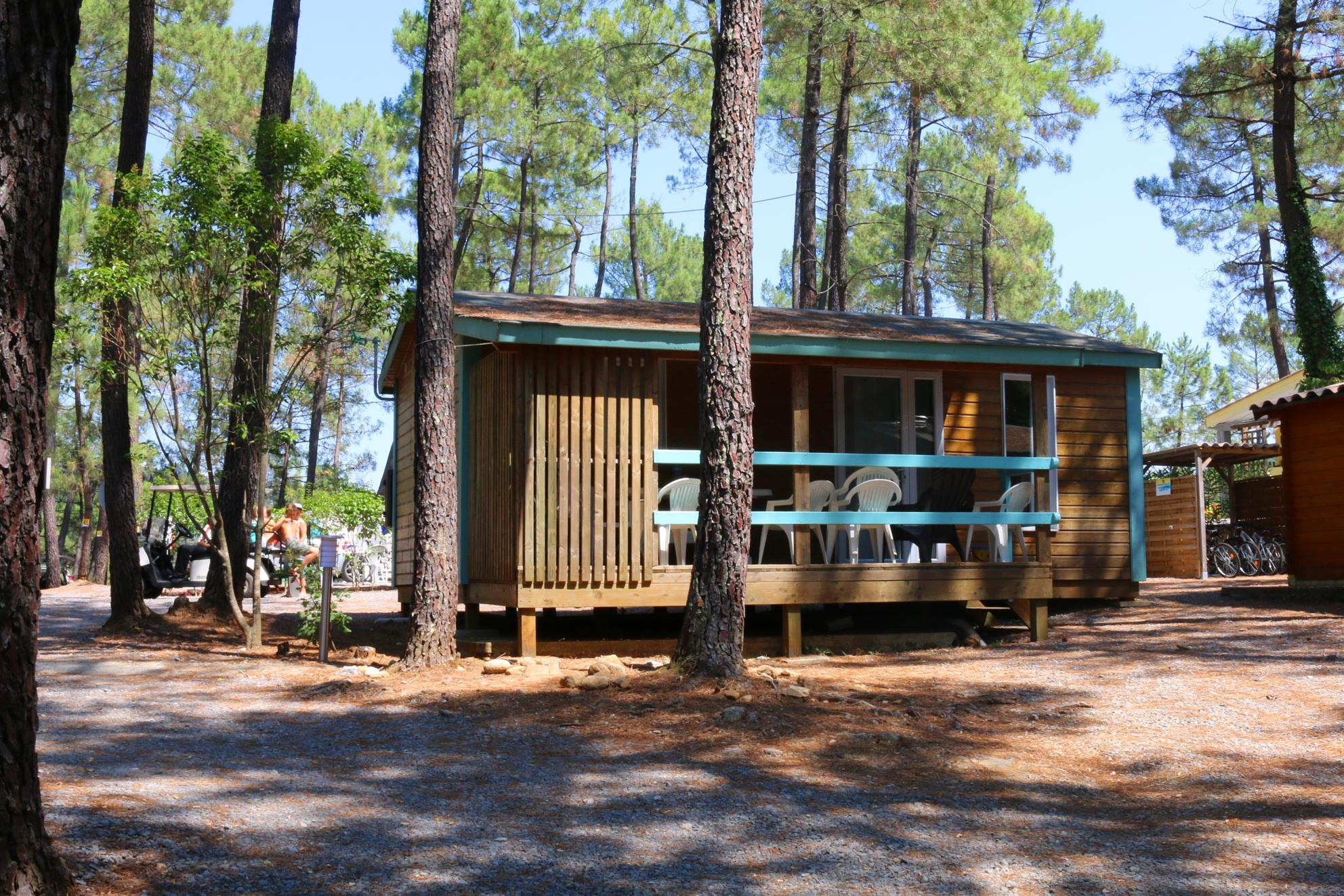 Huuraccommodatie - Chalet Mimosa - 2 Kamers - Camping Bois Simonet