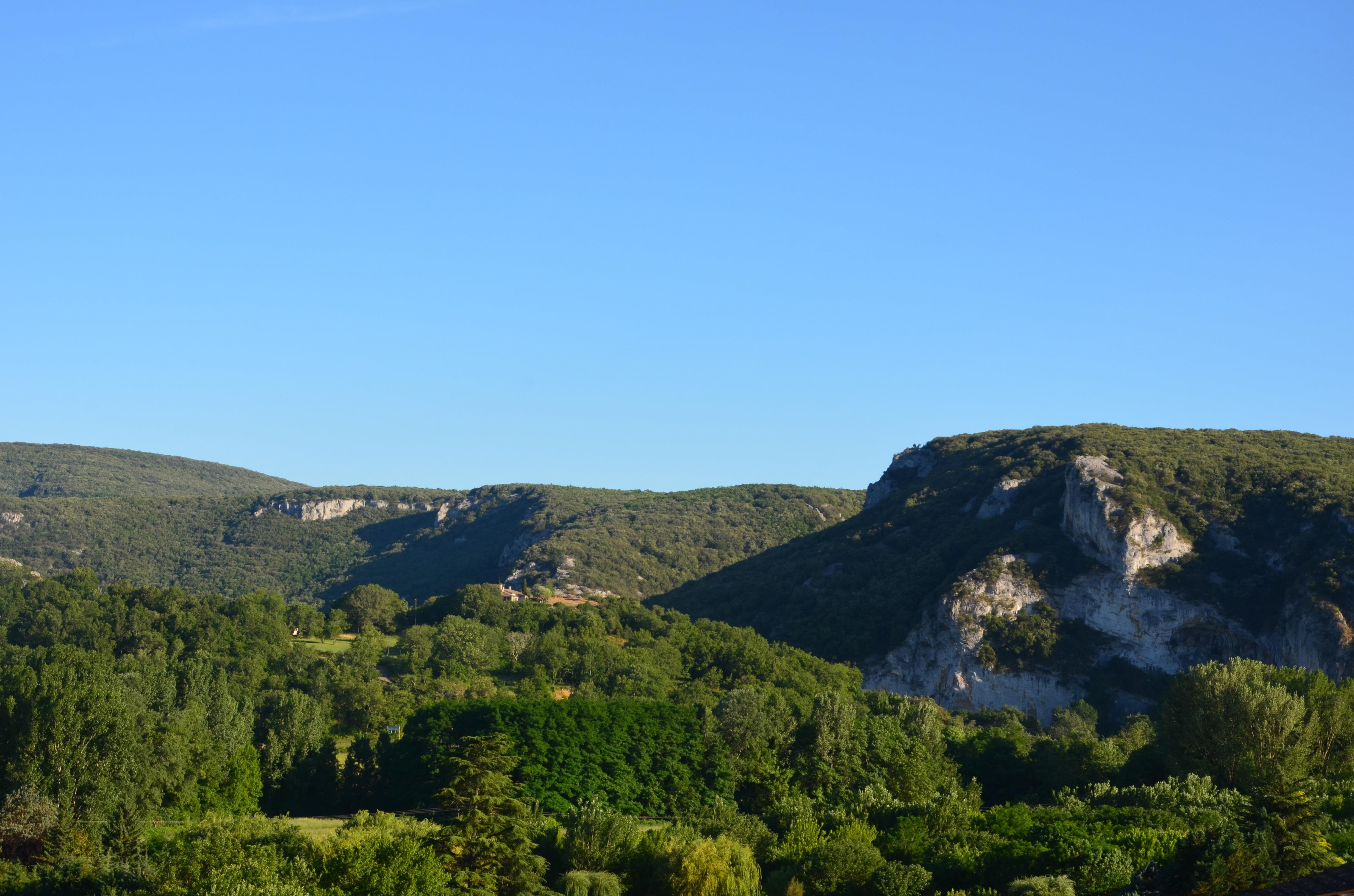 Camping le Vieux Vallon, Vallon-Pont-d'Arc, Ardèche