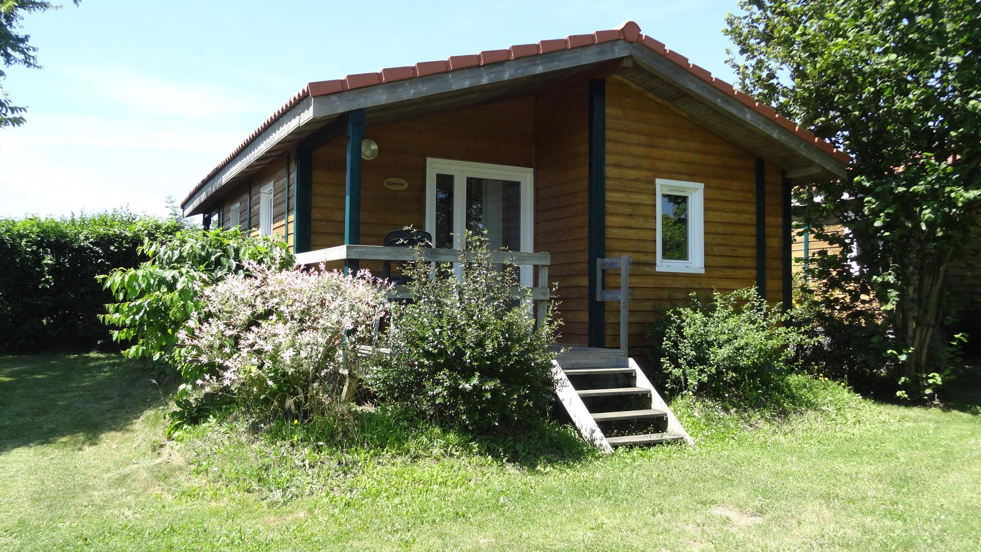 LOCATION CHALET 17m² (1 chambre) 2 adultes 2 enfants -12ans
