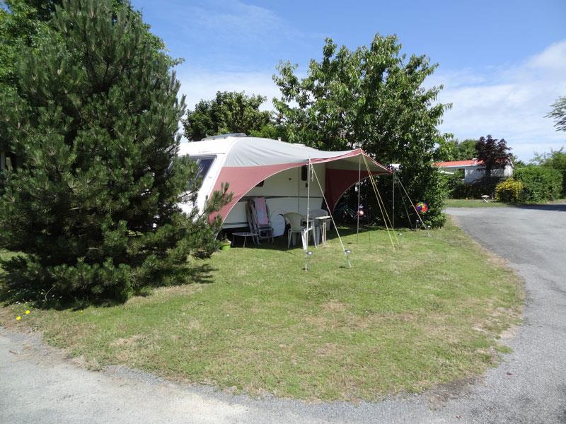 Emplacement caravane ou tente ou camping-car