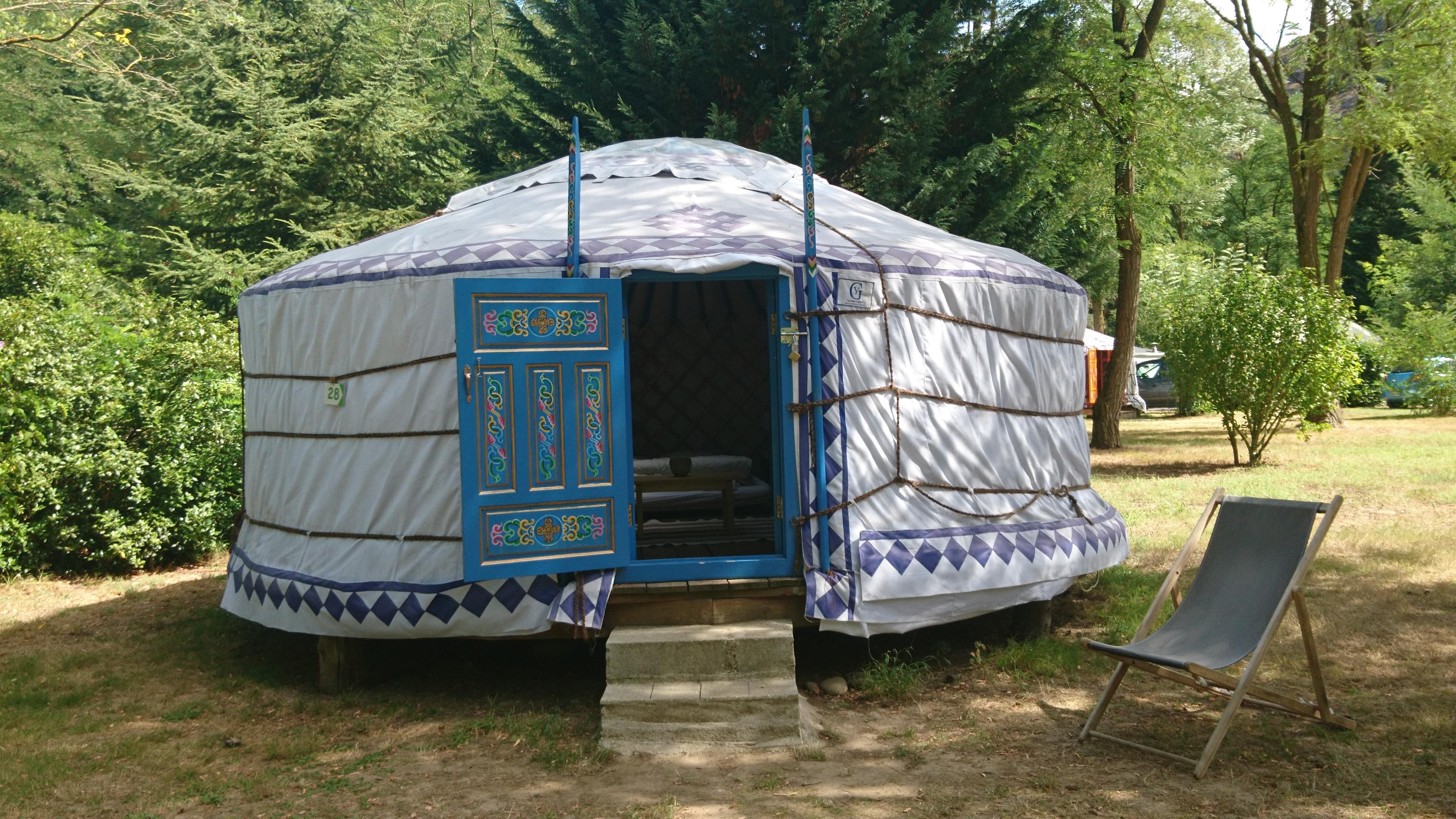 Location - Yourte - Camping Le Viaduc