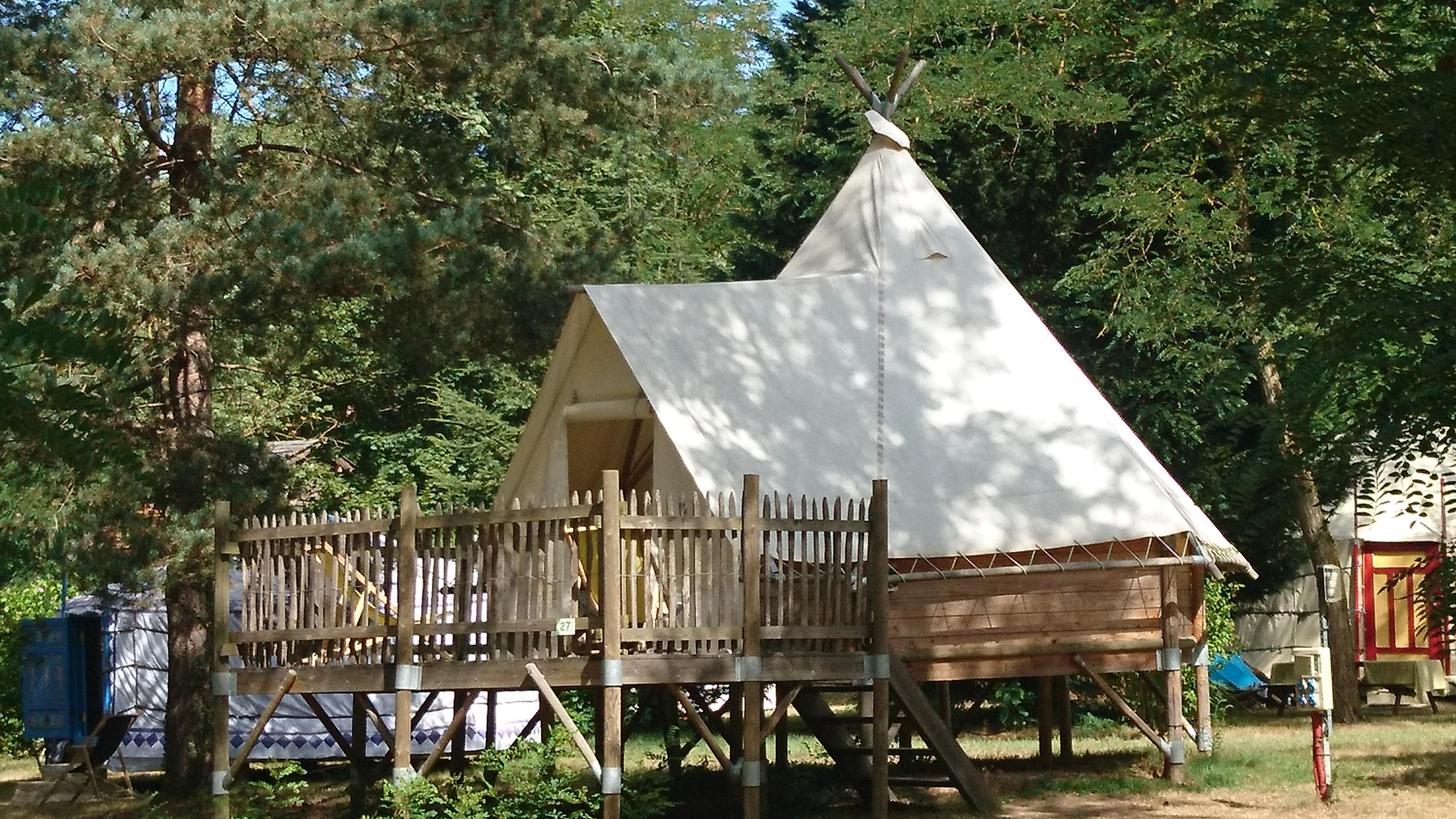 Location - Tipi - Camping Le Viaduc