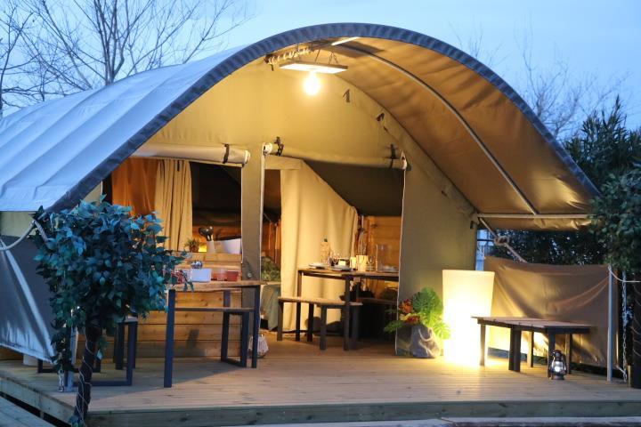 Location - Safari-Lodge Kibo - Camping Le Viaduc