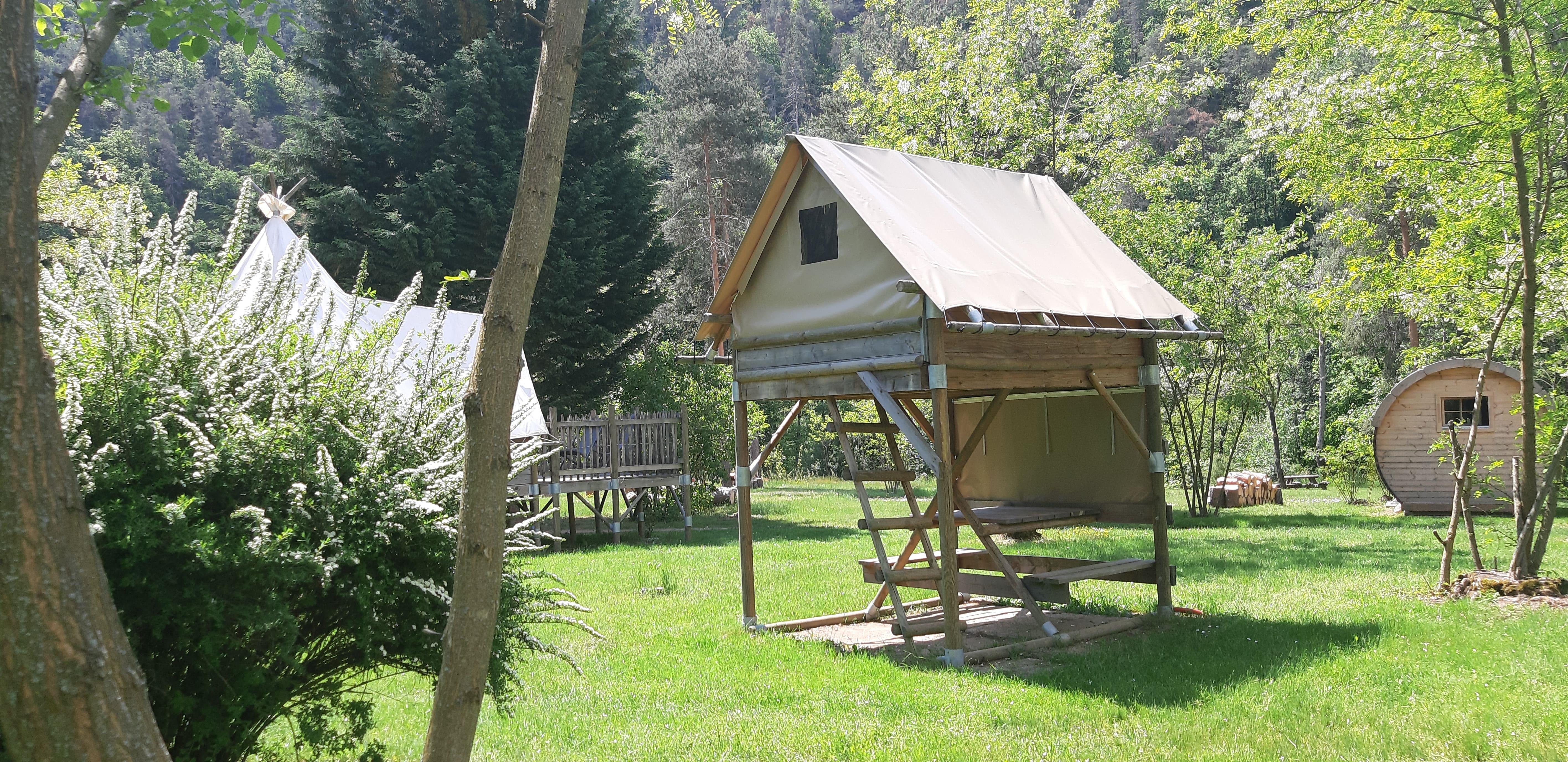 Location - Tente Bivouac - Camping Le Viaduc