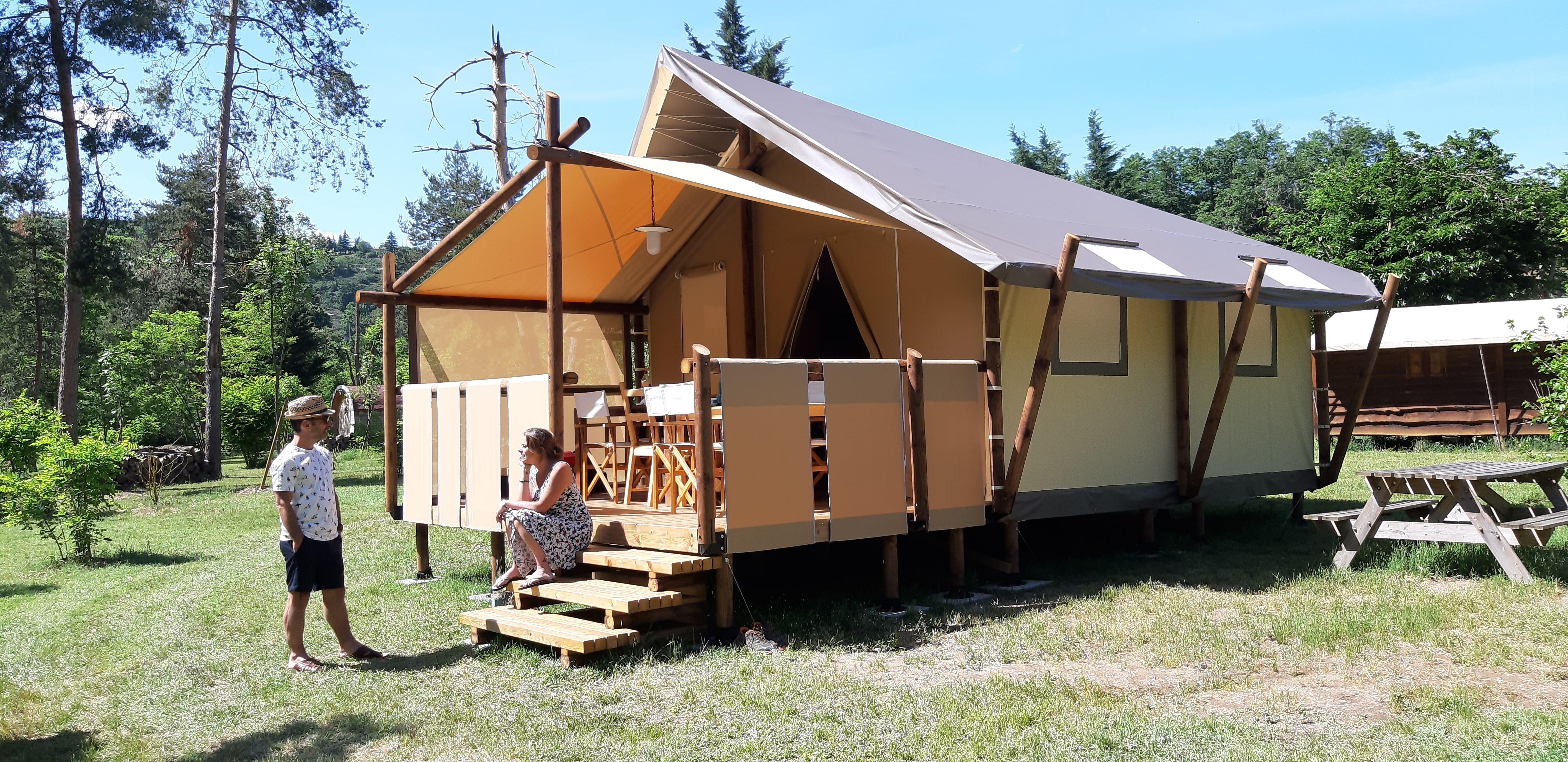 Location - Jungle Lodge - Camping Le Viaduc