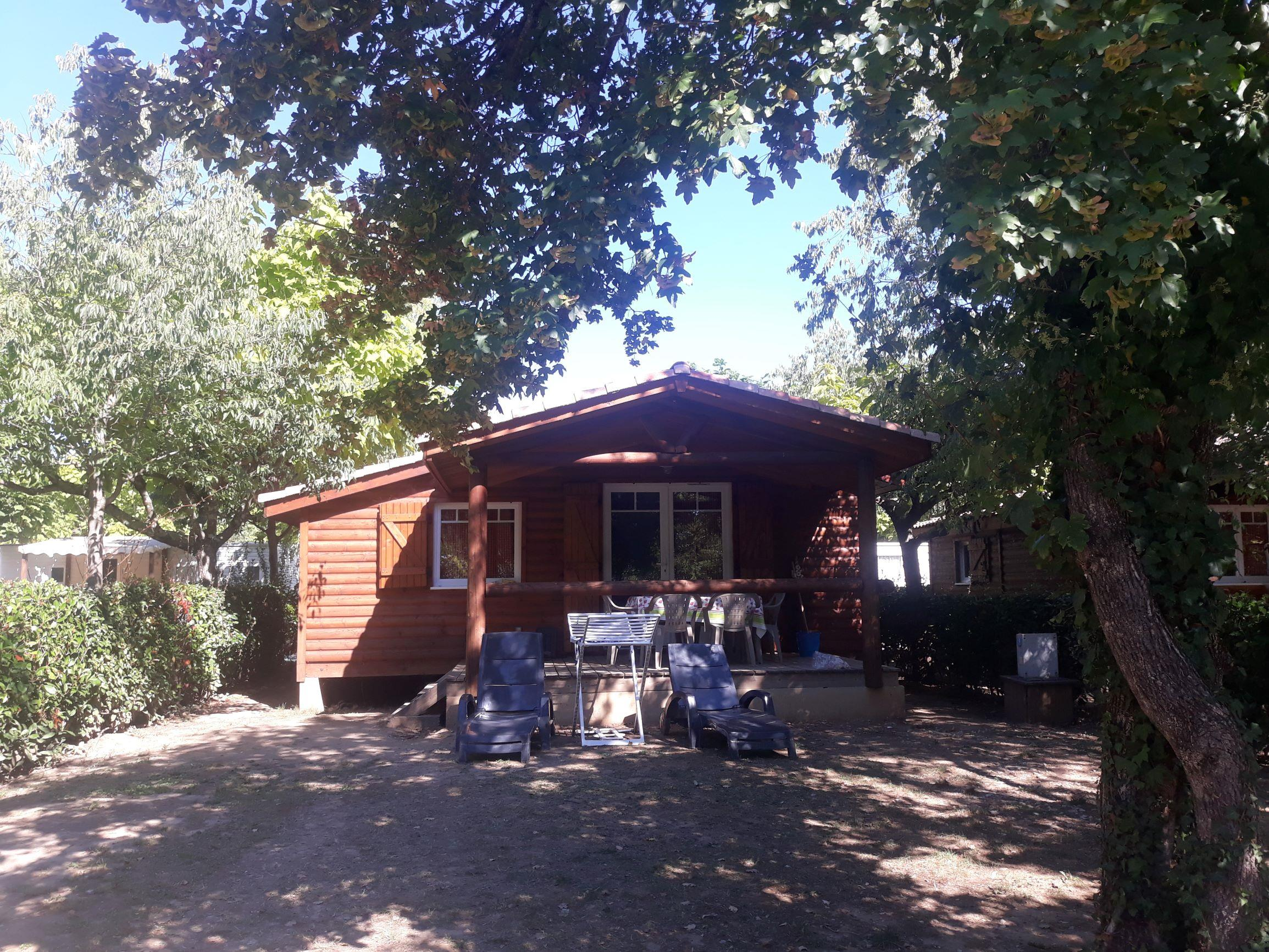 Accommodation - Chalet Prestige 35M² - Air-Conditioning - CAMPING LA SOURCE