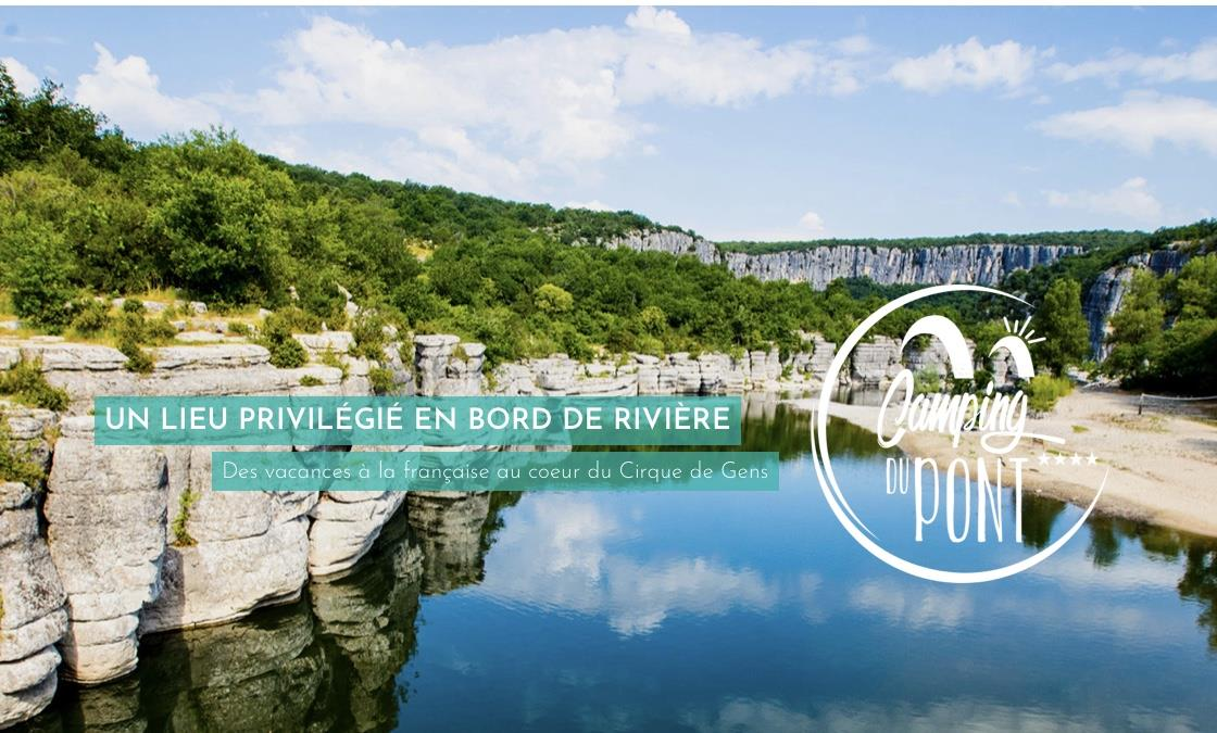 Camping du Pont, Pradons, Ardèche
