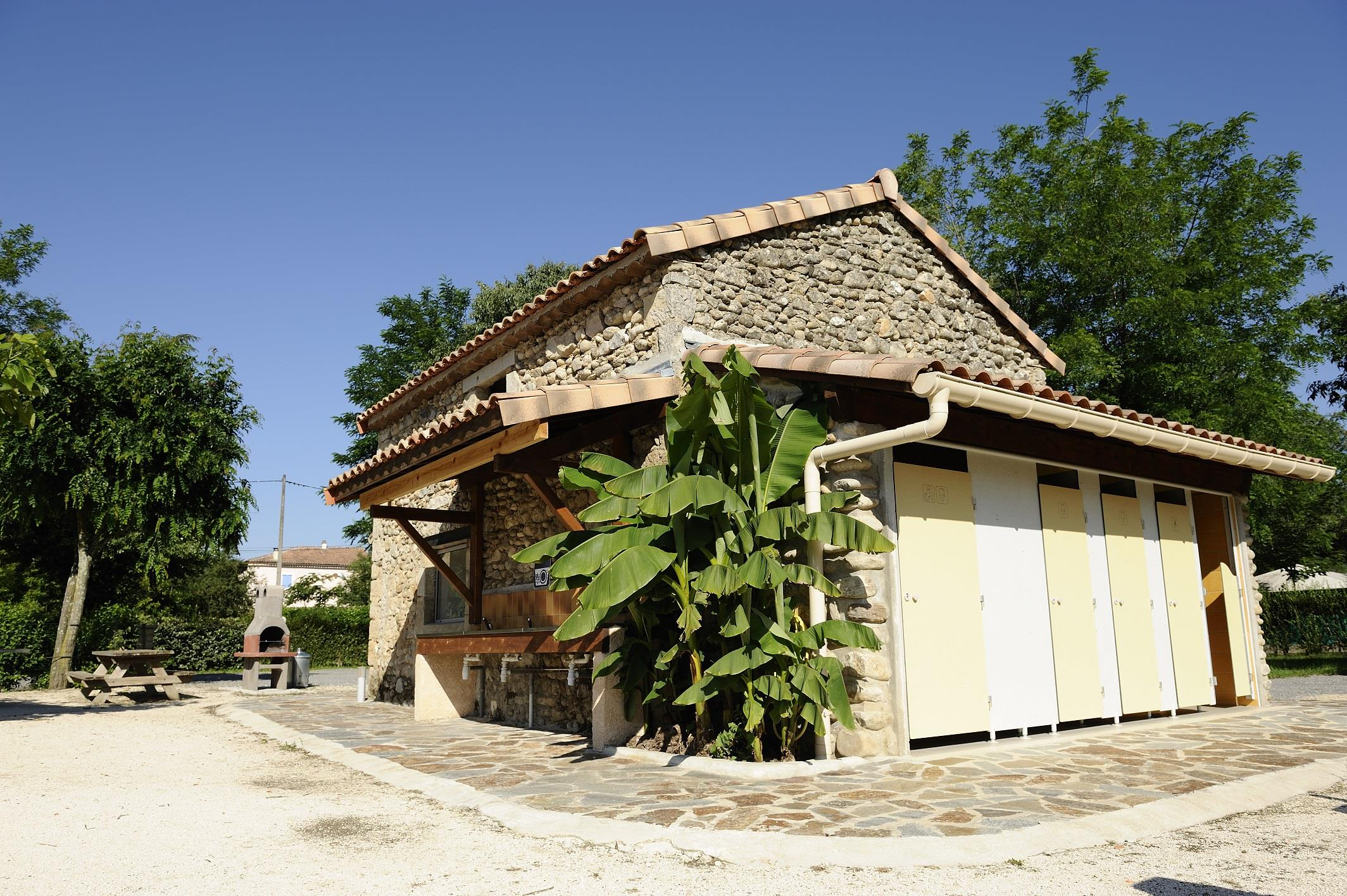 Camping les Hortensias, Rosières, Ardèche