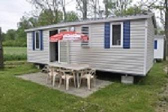 Accommodation - Mobile-Home 2 Bedrooms - 24M² - Terrace - CAMPING LE CHASSEZAC