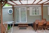 Mobil-home dimanche - dimanche / 3 chambres + terrasse couverte