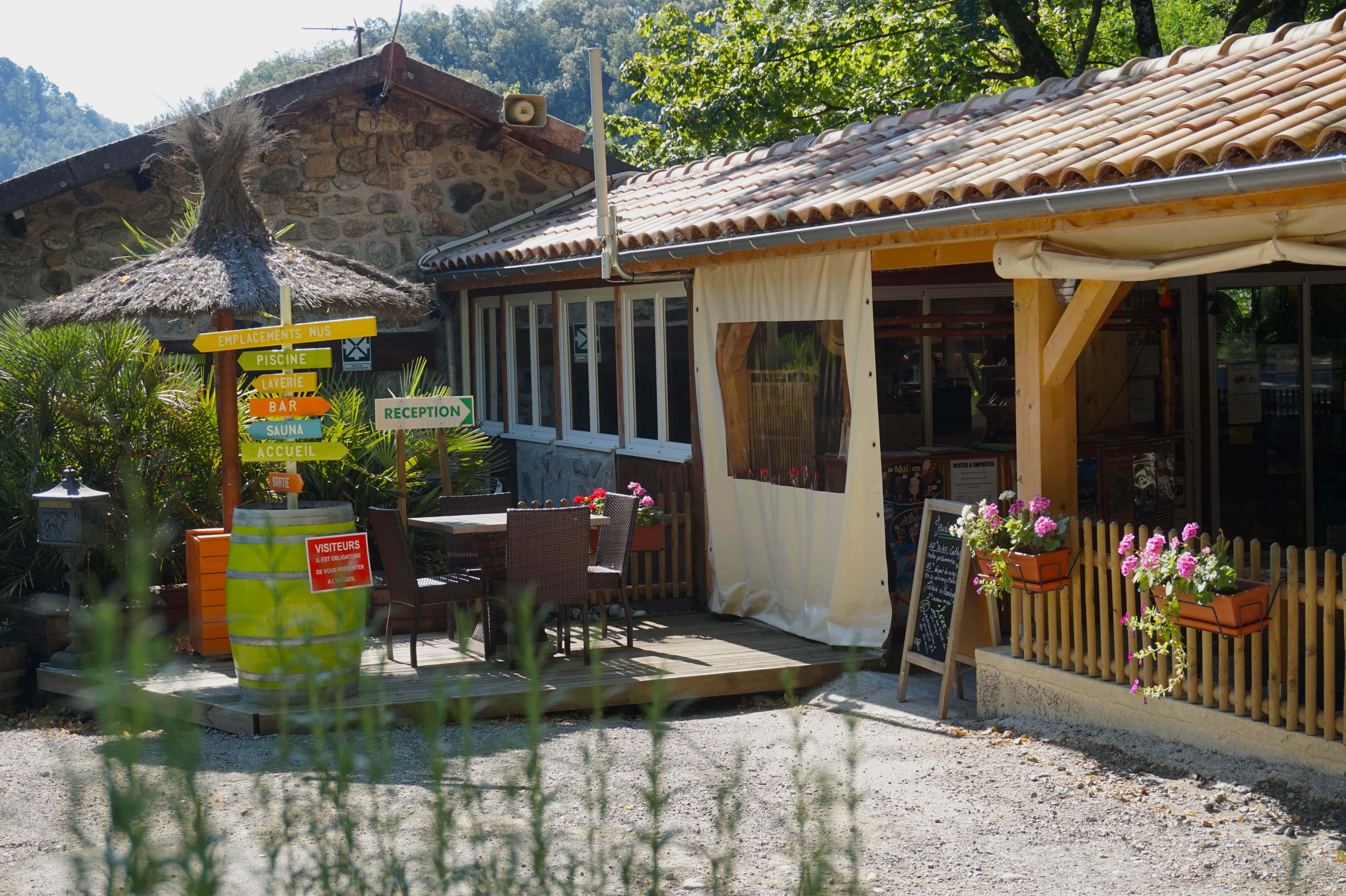 Camping le Barutel, Meyras, Ardèche