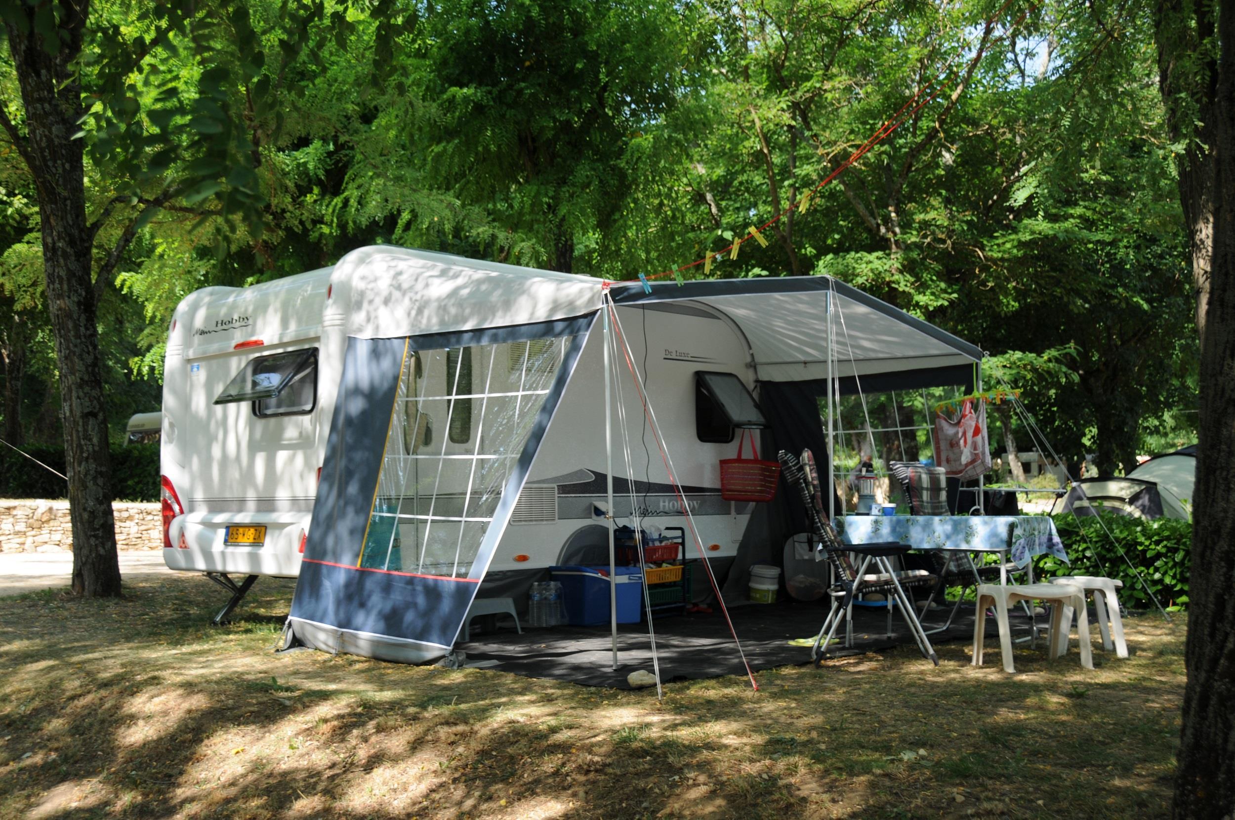 Camping le Clapas, Vallon-Pont-d'Arc, Ardèche