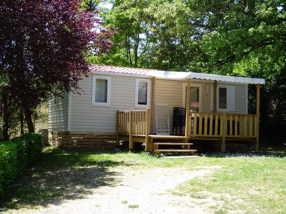 Accommodation - Mobile Home Classique Super Titania Irm S - Air-Conditioning (3 Bedrooms) - Camping Le Clapas
