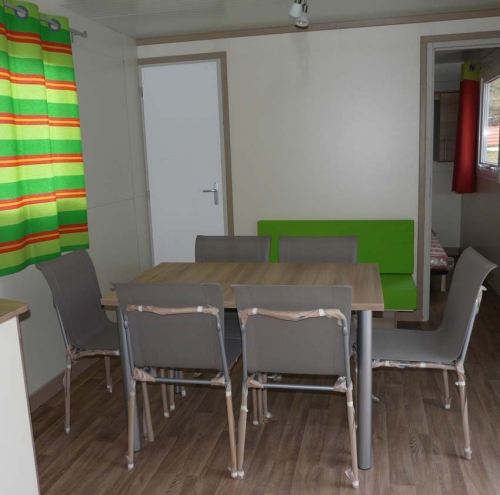Huuraccommodatie - Chalet Lagon 1/6 Pers. - Camping le Verger de Jastres