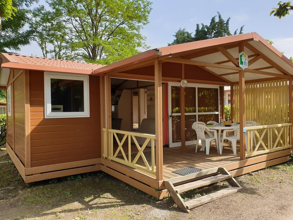 Huuraccommodatie - Chalet Samoa 1/6 Pers. - Camping le Verger de Jastres