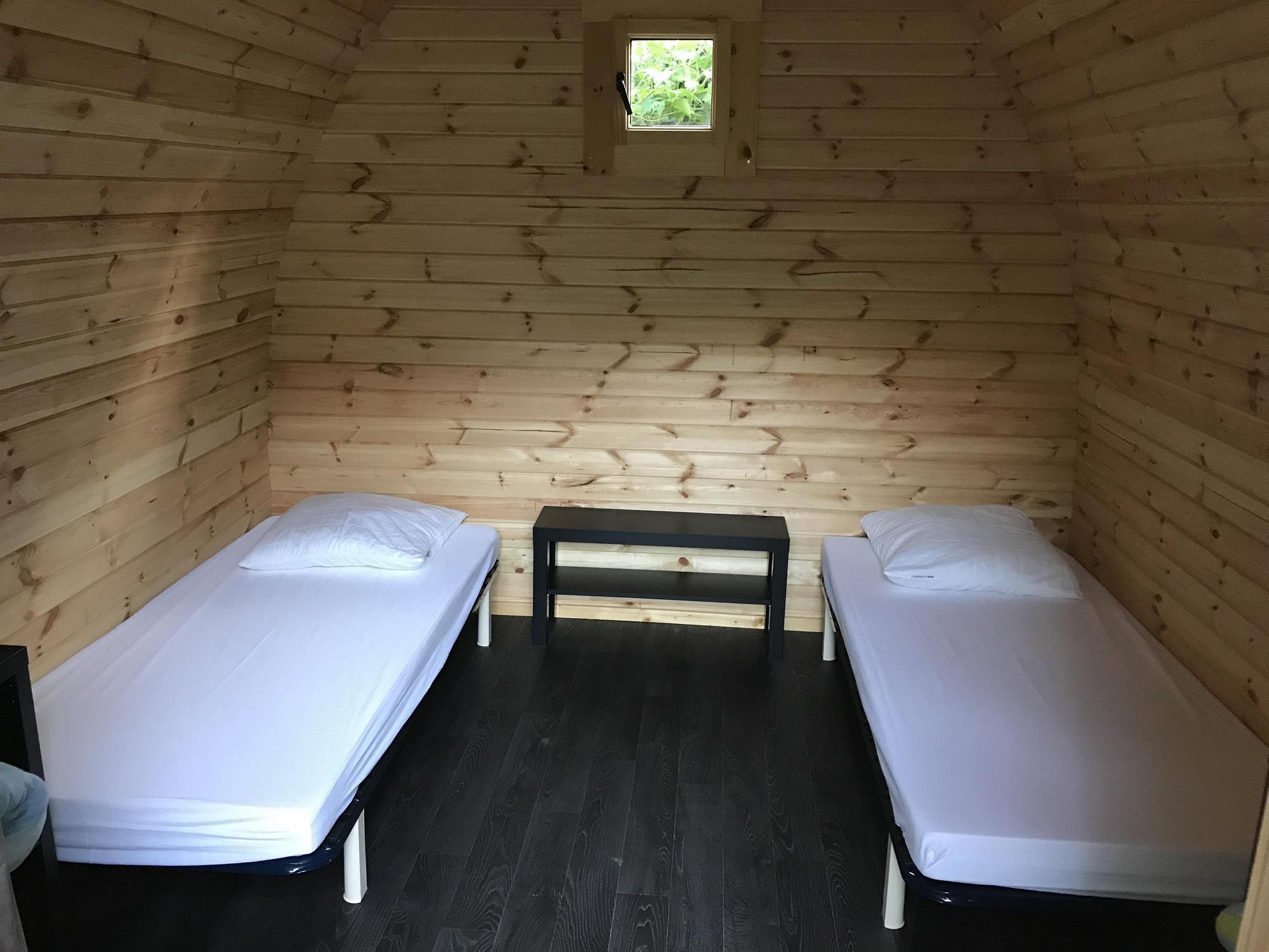 Chambre sans sanitaire