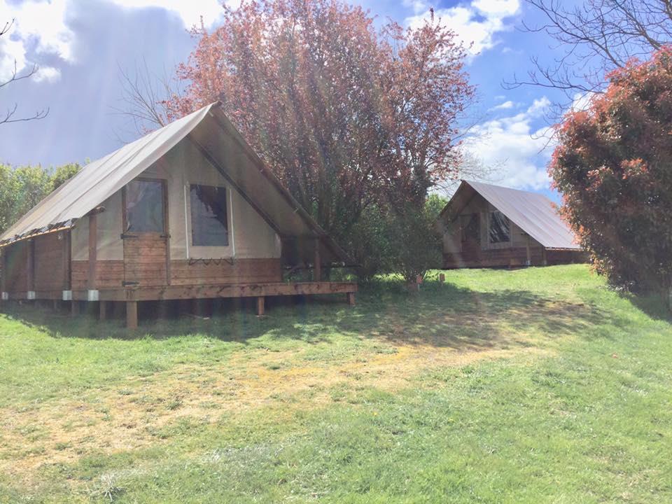 Location - Trappeur Wapiti/ Koala - Camping Le Bas Larin