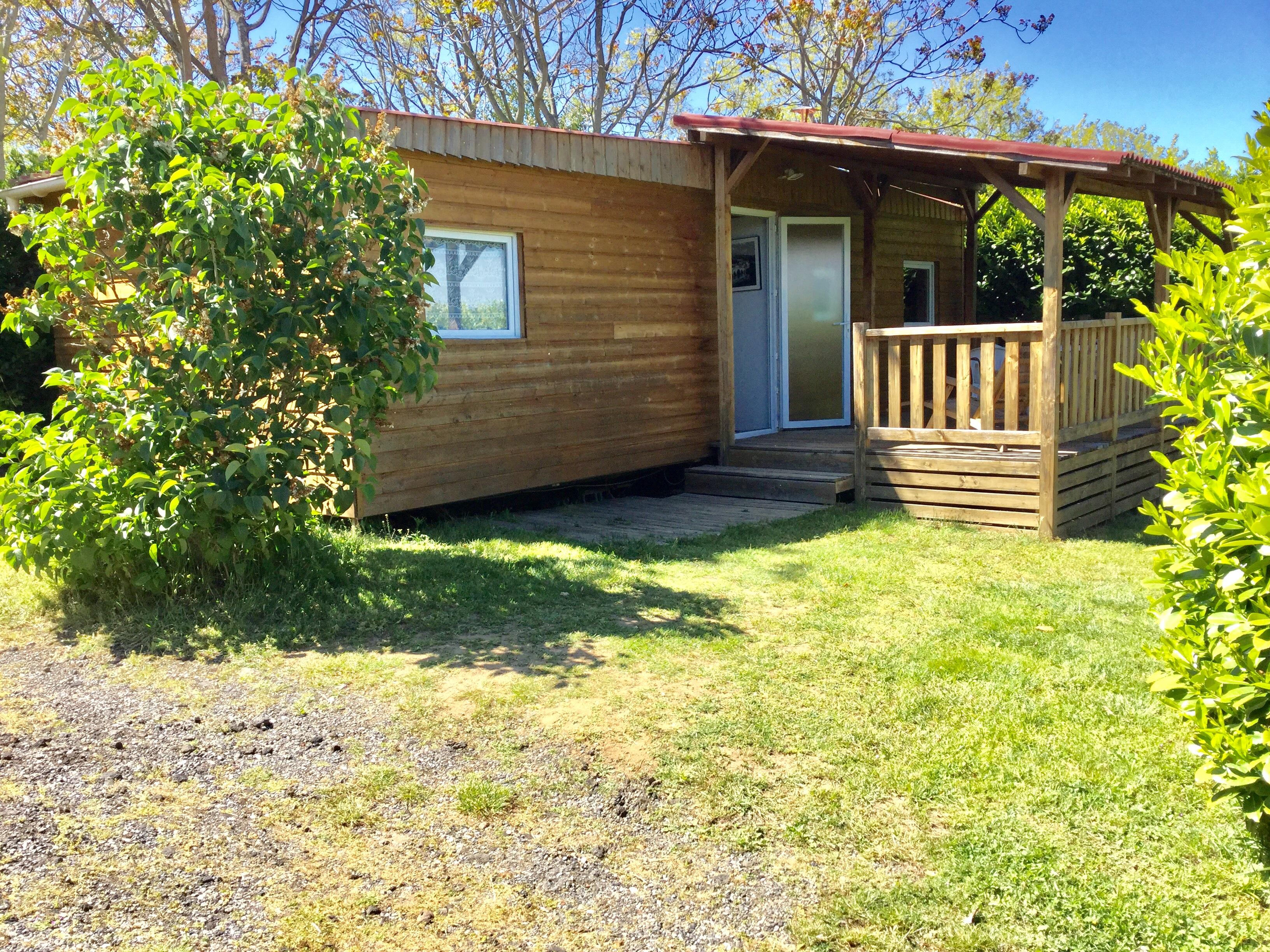 Location - Chalet Cosy 2 Chambres 4 Personnes - Camping Le Bas Larin