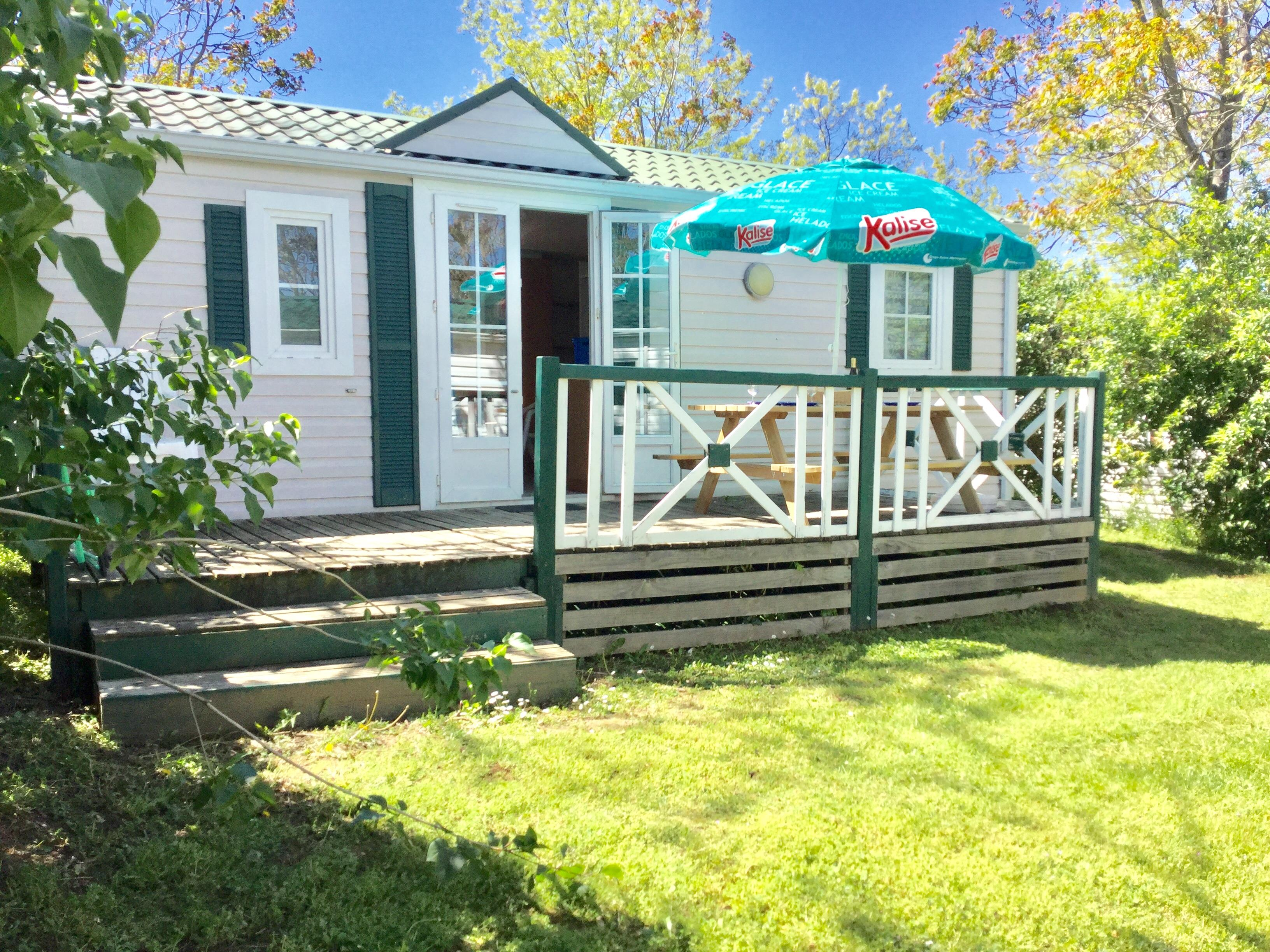 Location - Bungalow 2 Chambres 4 Pers - Camping Le Bas Larin
