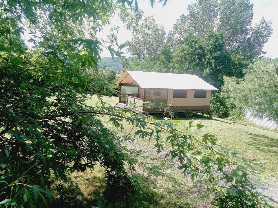 Location - Lodge Manon - Camping Le Bas Larin