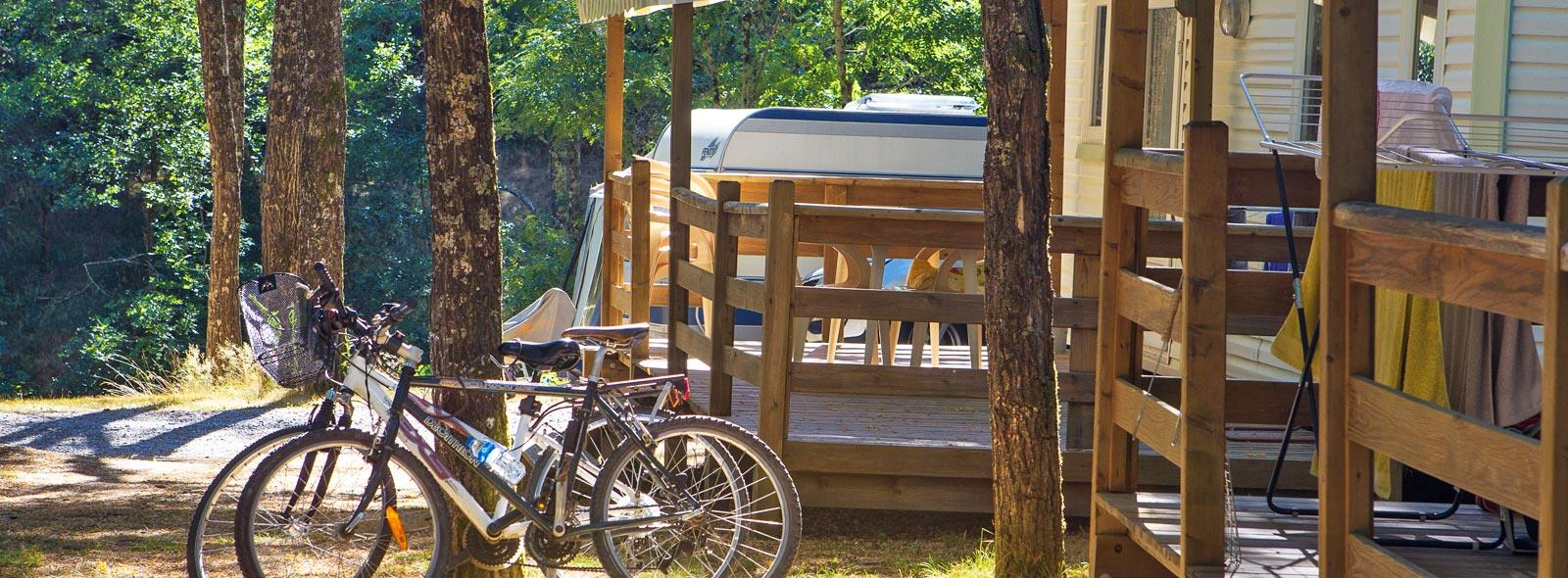 Camping le Roubreau, Joannas, Ardèche