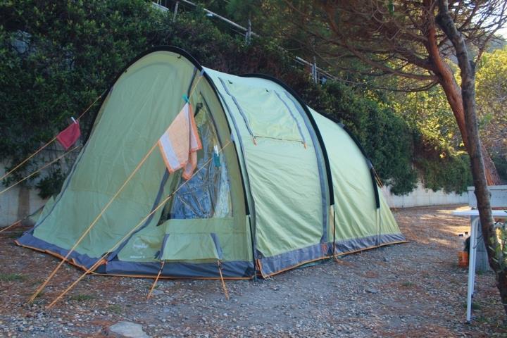 Stellplatz grosse Zelt