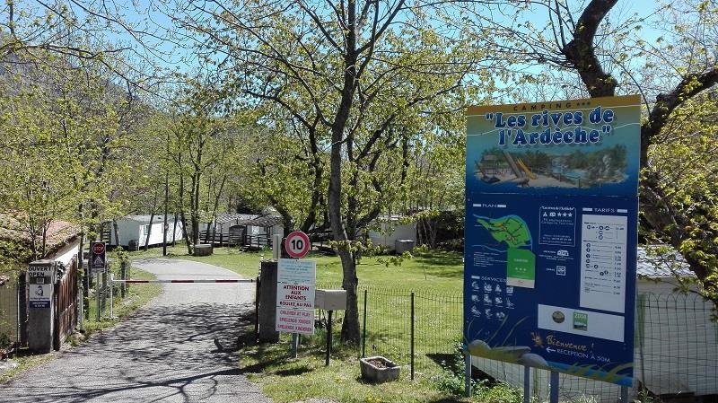 Camping les Rives de l'Ardèche, Mayres, Ardèche