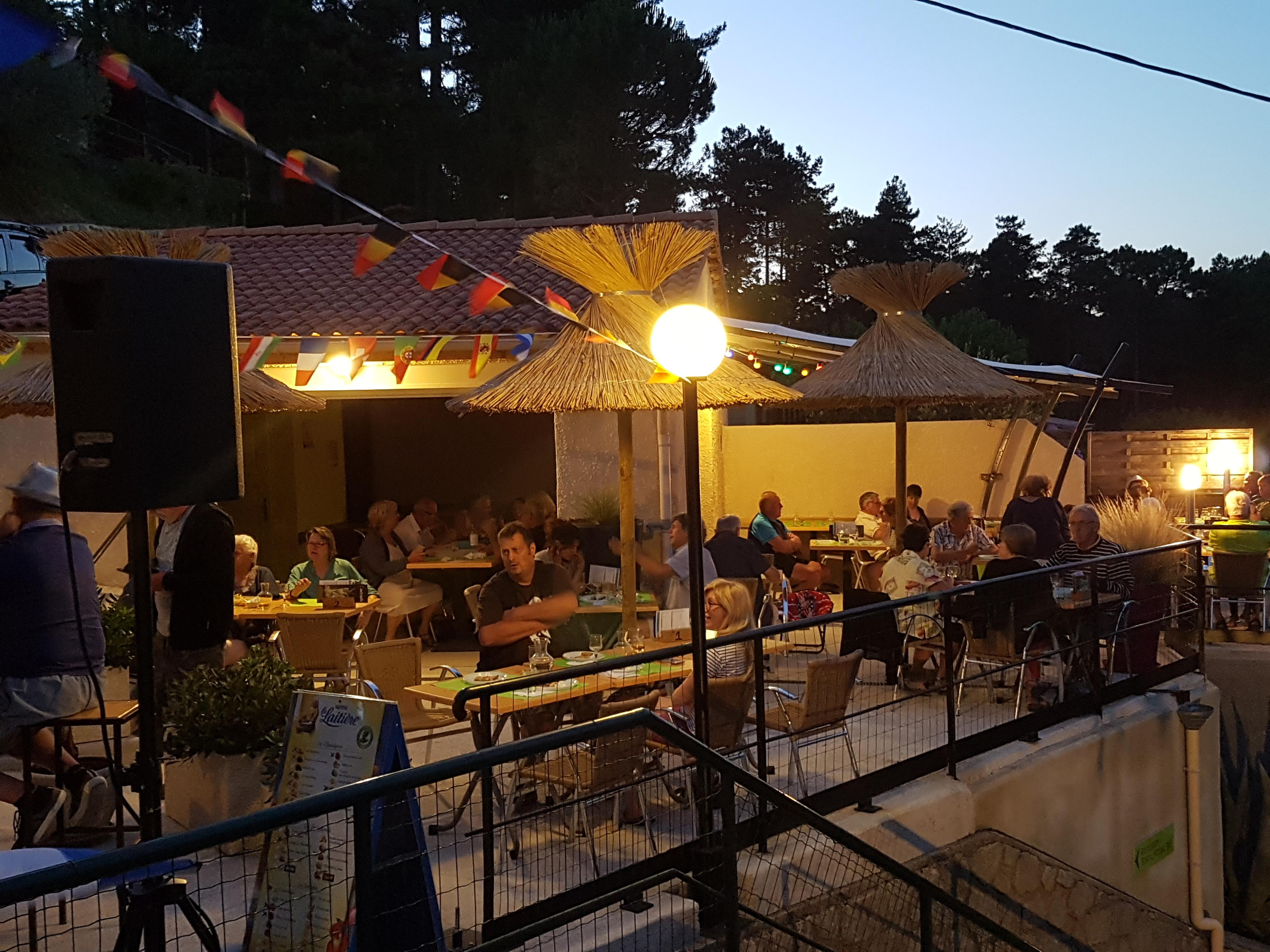 Entertainment organised Camping Les Pins D'ucel - Ucel